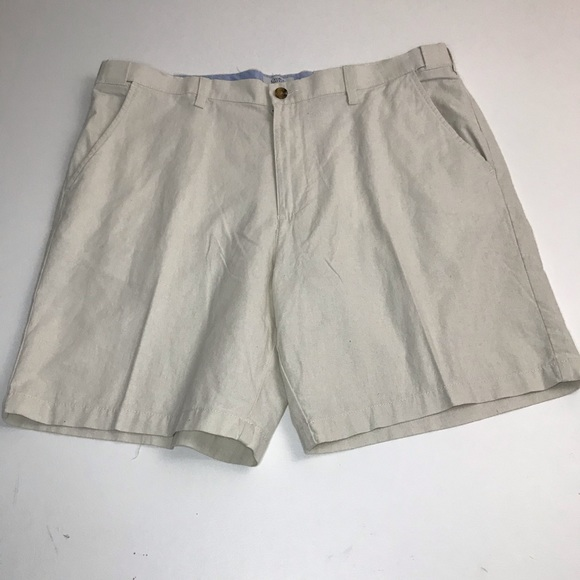 croft & barrow Other - Croft & Barrow Linen Flat Front Shorts. L4